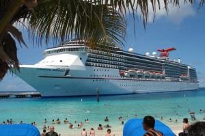 Carnival Pride in Turks and Caicos